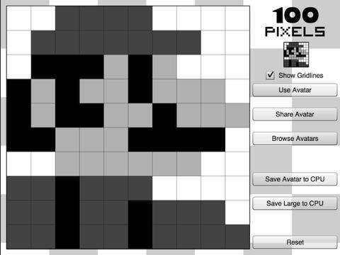 100 Pixels screenshot