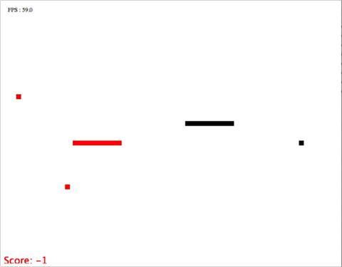 Dodge and Collide game screenshot