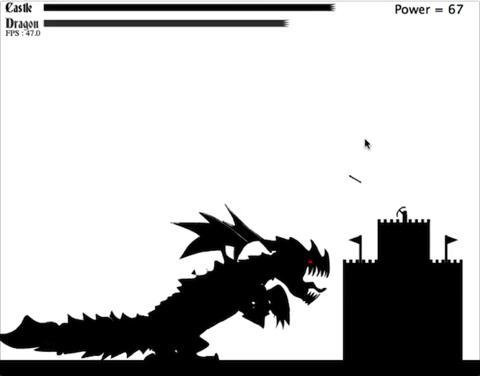 Dragon Defense game screenshot