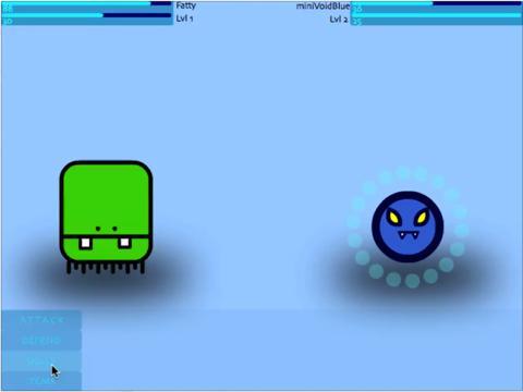 Jellie Quest game screenshot