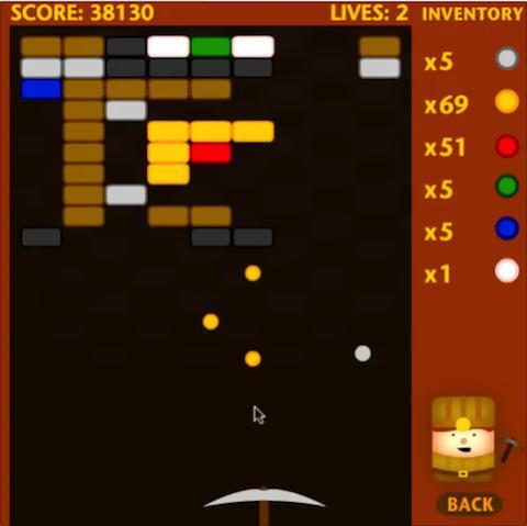 Mega Miner game screenshot