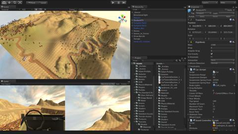 Oculus Drift game screenshot