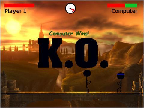 Mega Stickfight game screenshot