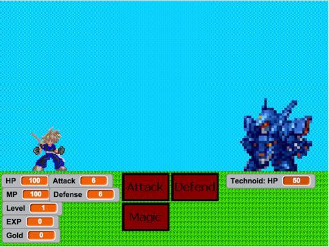 RPG Battle 1.0 game screenshot