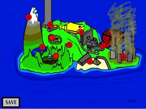 Sir Eggbert Adventures game screenshot