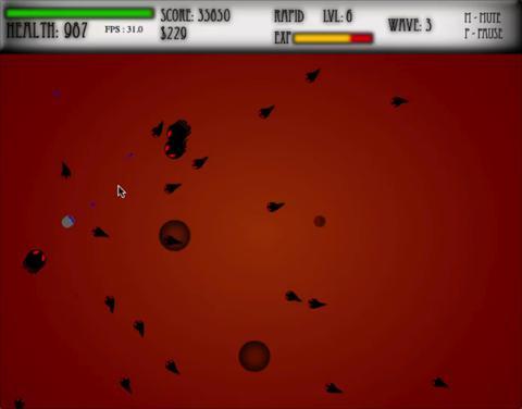 Swarm game screenshot