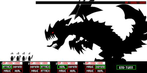 Tactical Dragon Battle game screenshot